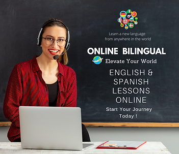 Learn English or Spanish Online