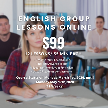 Group English Lessons