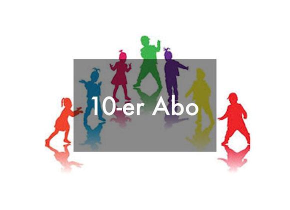10-er-Kids-Abo (4-9 Jahre)