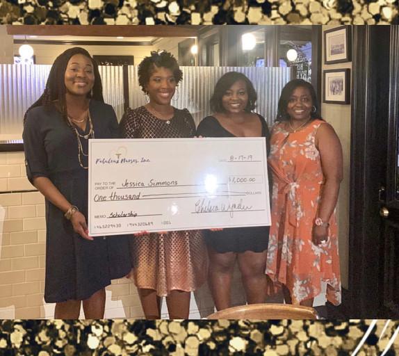 Fabuleux Nurses, Inc. 2019 Scholarship Recipient