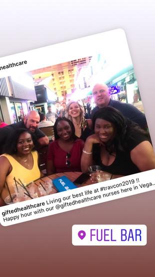 Fabuleux Nurses take on Vegas for TRAVCON 2019