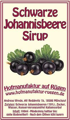 Schwarze Johannisbeere Sirup 100ml