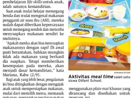 Meal Time Latih Kemandirian Anak