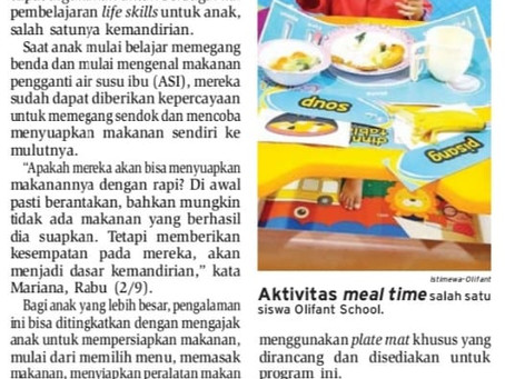 Meal Time Latih Kemandirian Anak