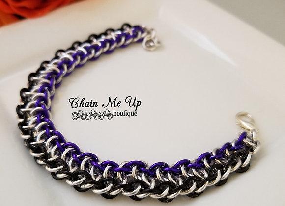 Viper in Black, Silver, Purple
