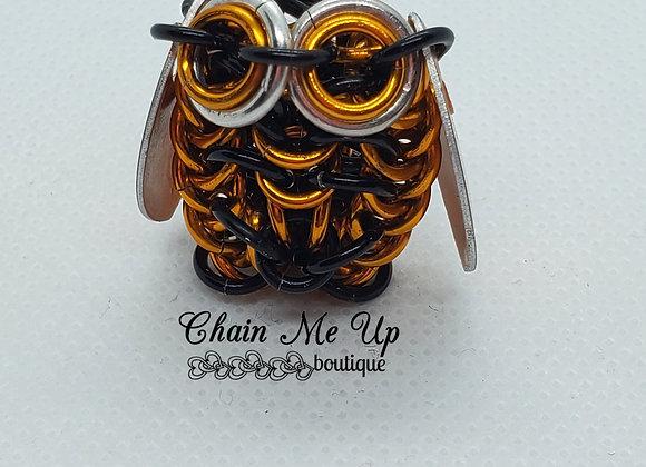 Owl - Orange / Black