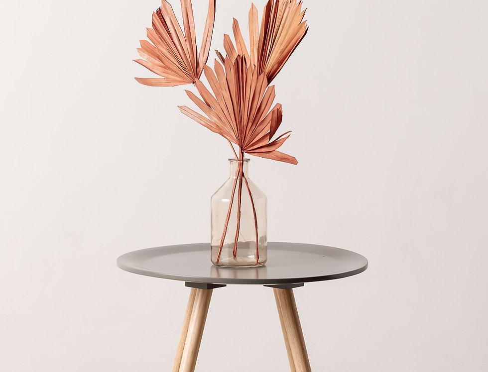 Palmblatt Speer, orange, rund