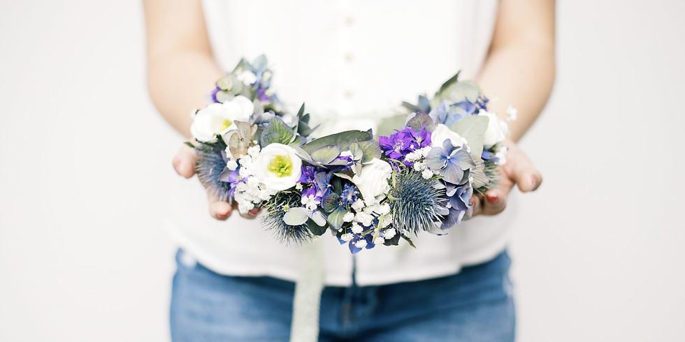 Blumenkranz binden
