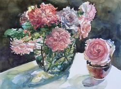 Кружево роз