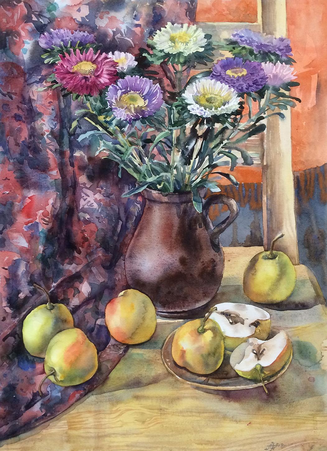 «Хризантемы и груши»