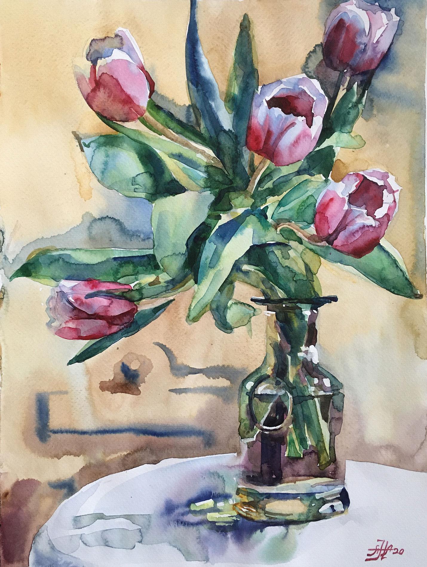 Первые тюльпаны