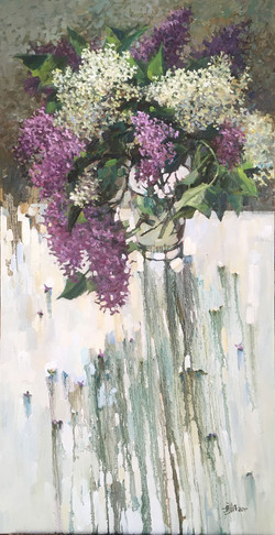 Lilac bunches