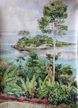 Кочанг. Острова