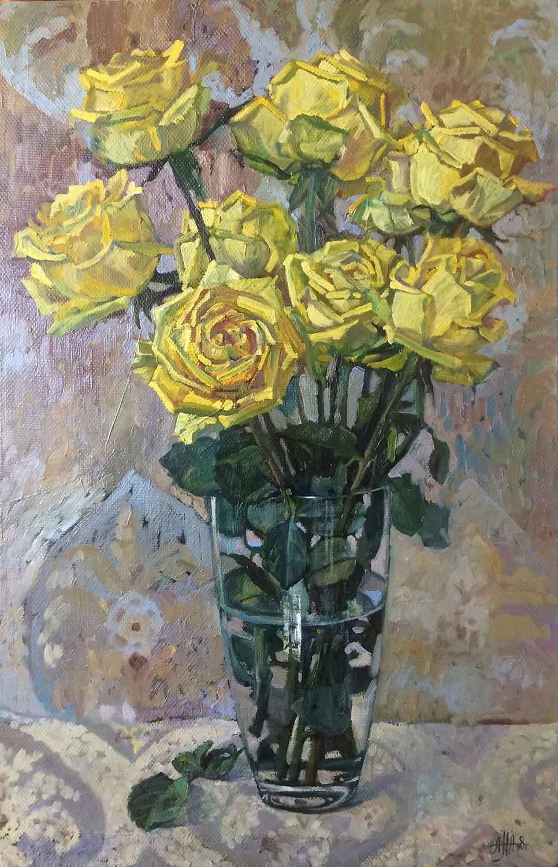 Жёлтые розы