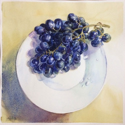 Grape and drops
