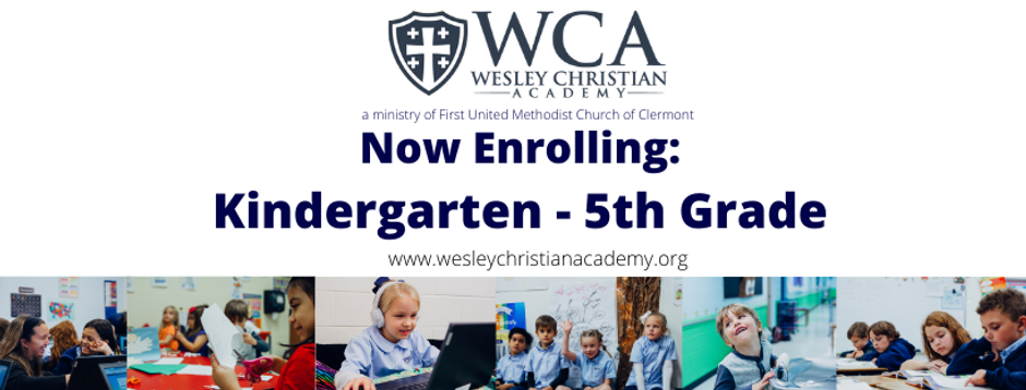 Now Enrolling Kindergarten - 5th Grade.p