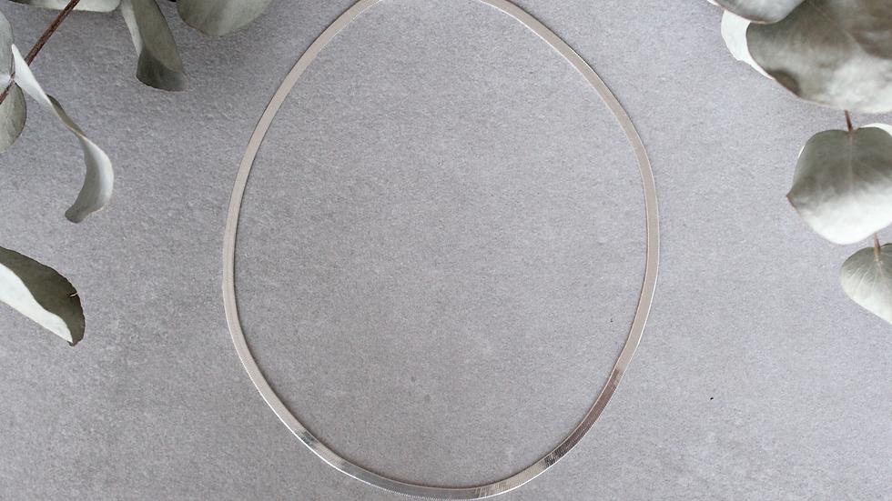 Herringbone - Argent