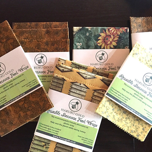 Beeswax Food Wrap 3 Pack