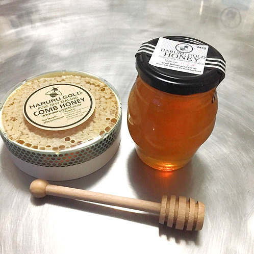 Honey, Comb Honey and Dipper Pack