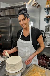 Eileen, baker extraordinaire