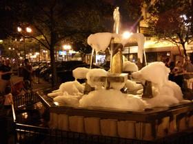 Lincoln Square (darn kids!)