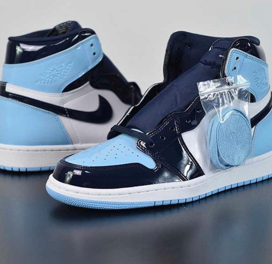 Air Jordan 1 Retro High UNC Patent