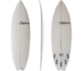 Twinner model by T.Patteson Surfboards
