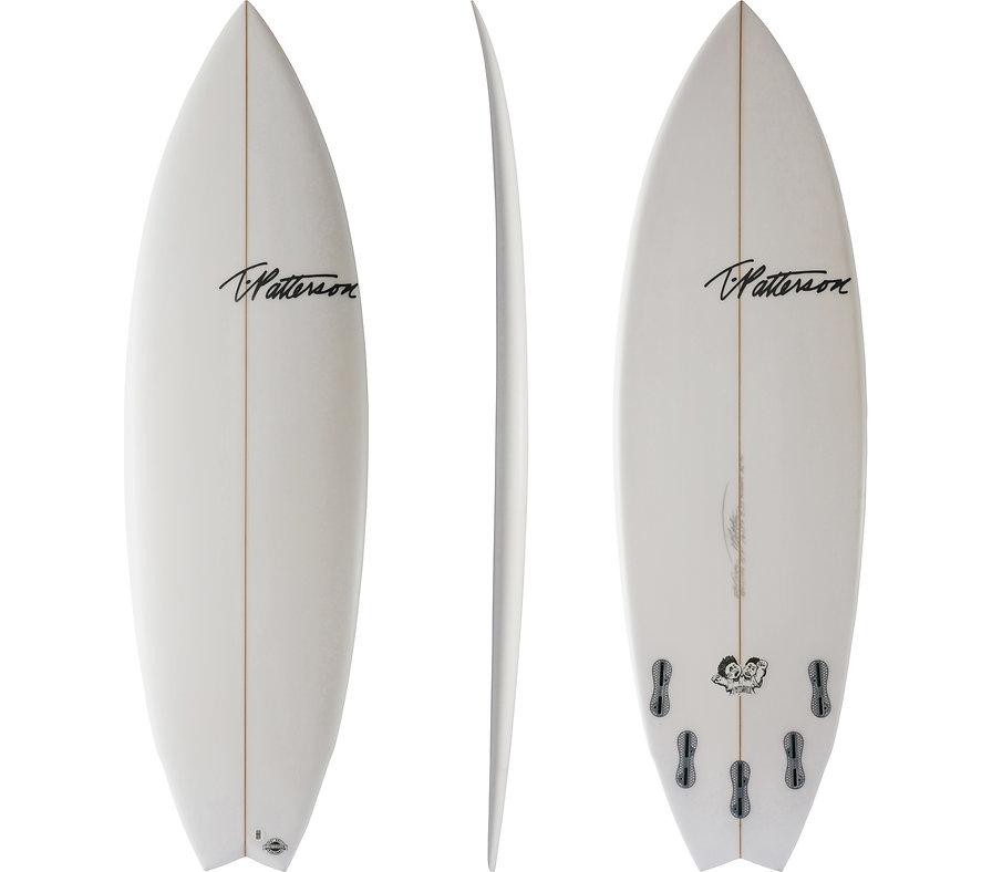 Twinner model by T.Patteson Surfboards
