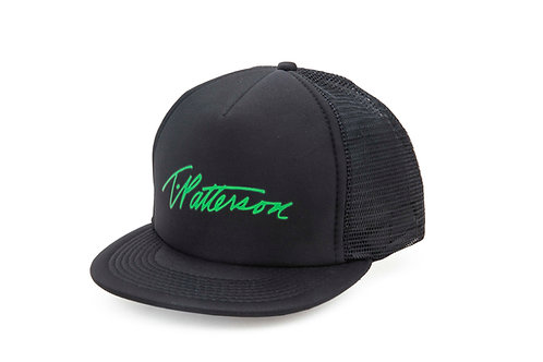 T.Patterson Black Signature Trucker