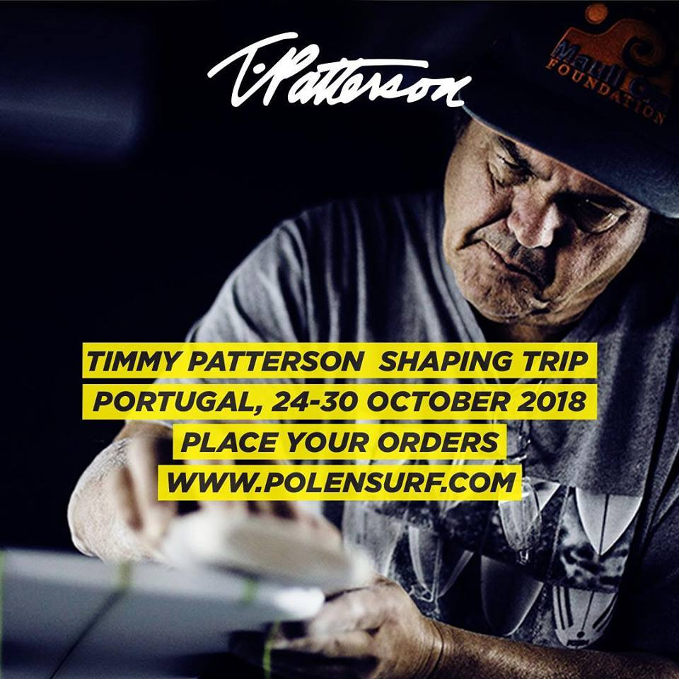 TIMMY PATTERSON PORTUGAL 2018