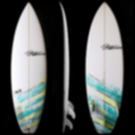 Stalker model by T.Patterson Surfboards