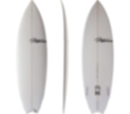 Bull Dog Model by T.Patterson Surfboards