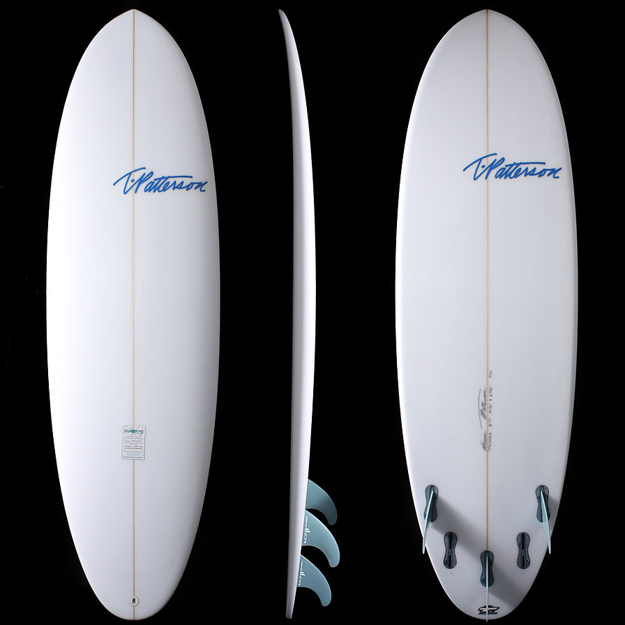 Original Pill model by T.Patterson Surfboards