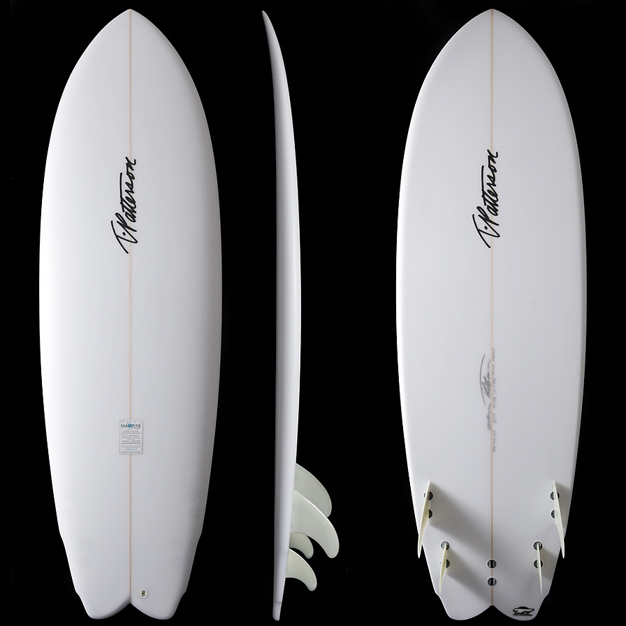 Fish Sauce model by T.Patterson Surfboards
