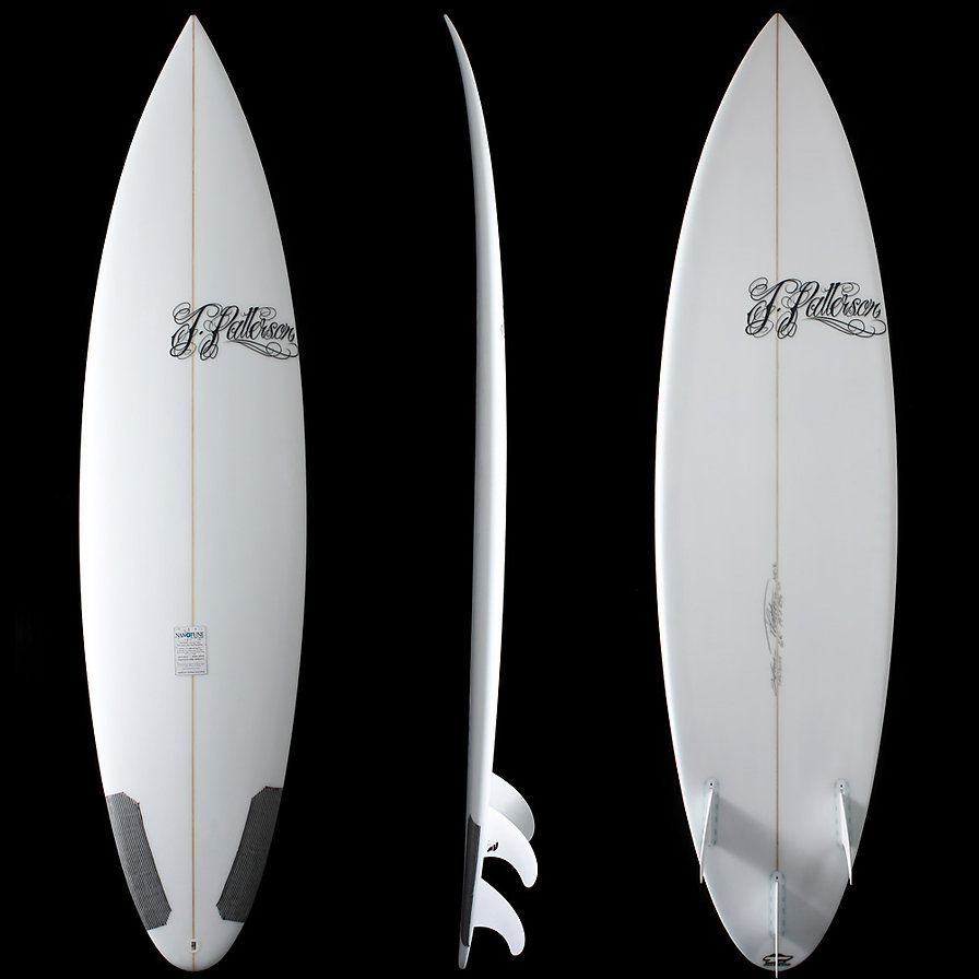 Step Ups and Big Wave Guns by T.Patterson Surfboards