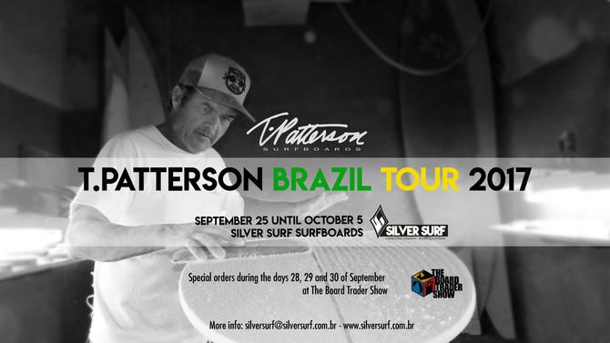 T.PATTERSON BRAZIL TOUR 2017