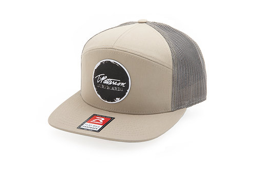 STAMPED 3-PANEL HAT