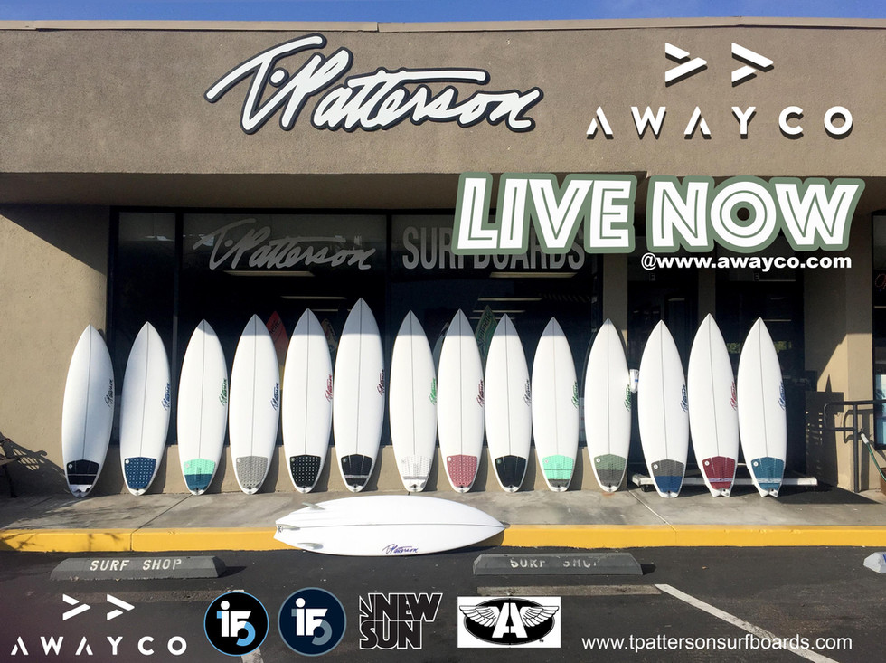 AWAYCO - T.PATTERSON SURFBOARDS
