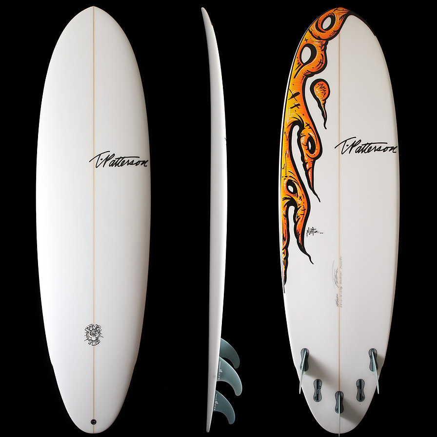 Power Pill model by T.Patterson Surfboards