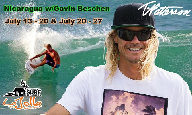 Surf Nicaragua w/Gavin Beschen