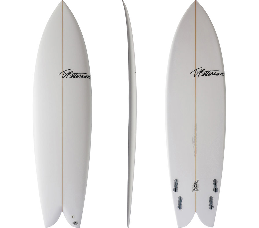 Devil Fish model by T.Patterson Surfboards