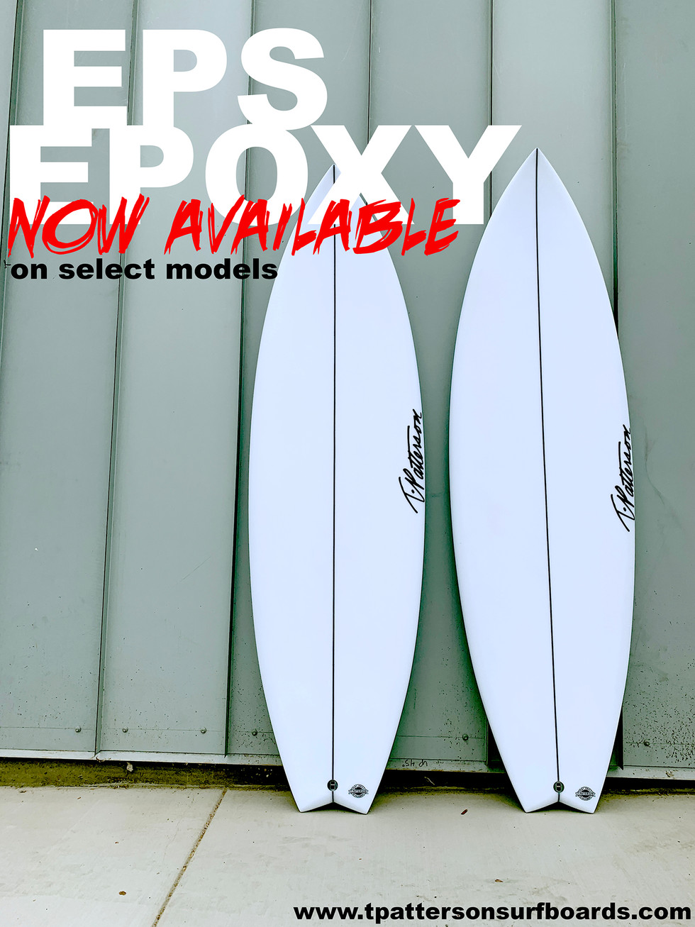 EPS EPOXY now available!