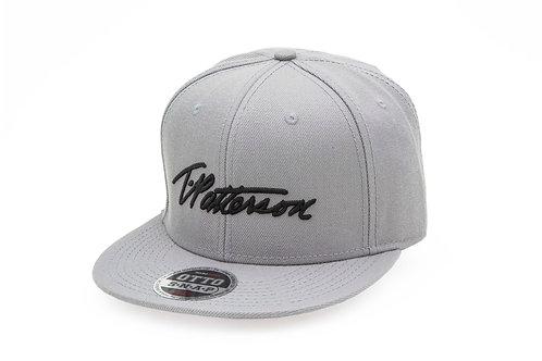 T.Patterson Grey Signature Snap Hat
