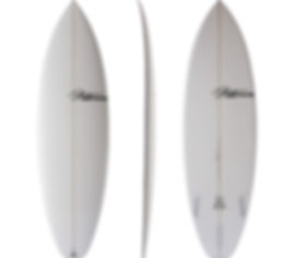 Spud model by T.Patterson Surfboards