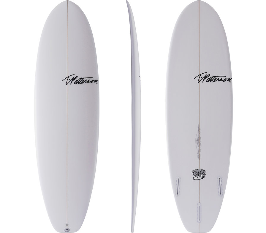 Pill-2 model by T.Patterson Surfboards