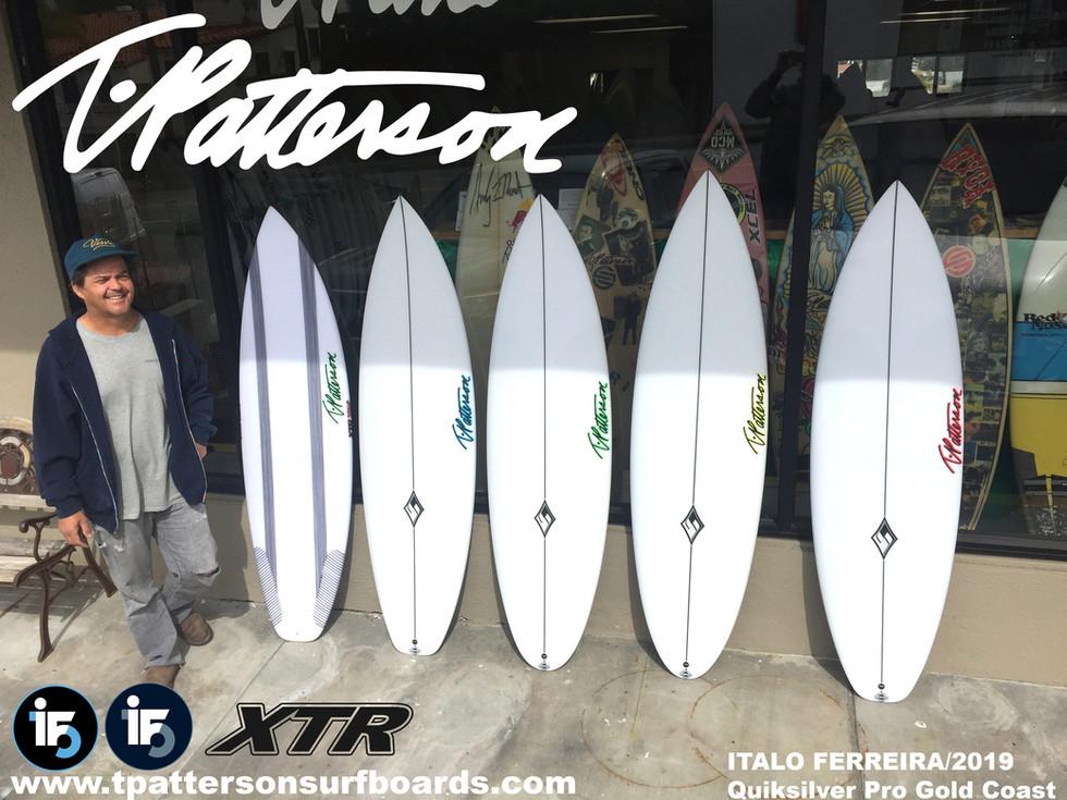 Italo Ferreira Quiksilver Pro Gold Coast 2019 5 Pack