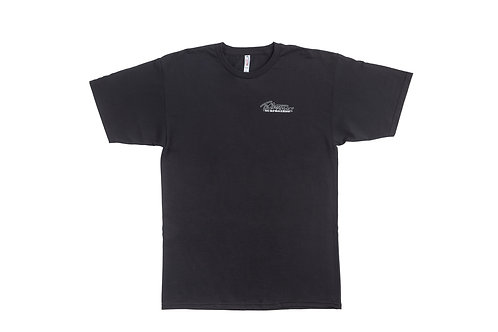 T.Patterson Surfboards Short Sleeve Black Logo Tee