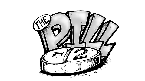 Pill-2 model logo by T.Patterson Surfboards