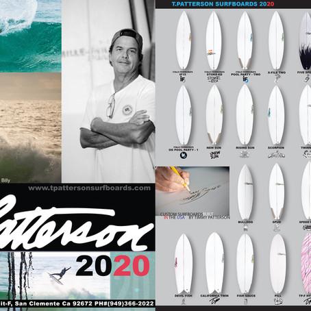 2020 Surfboard lineup