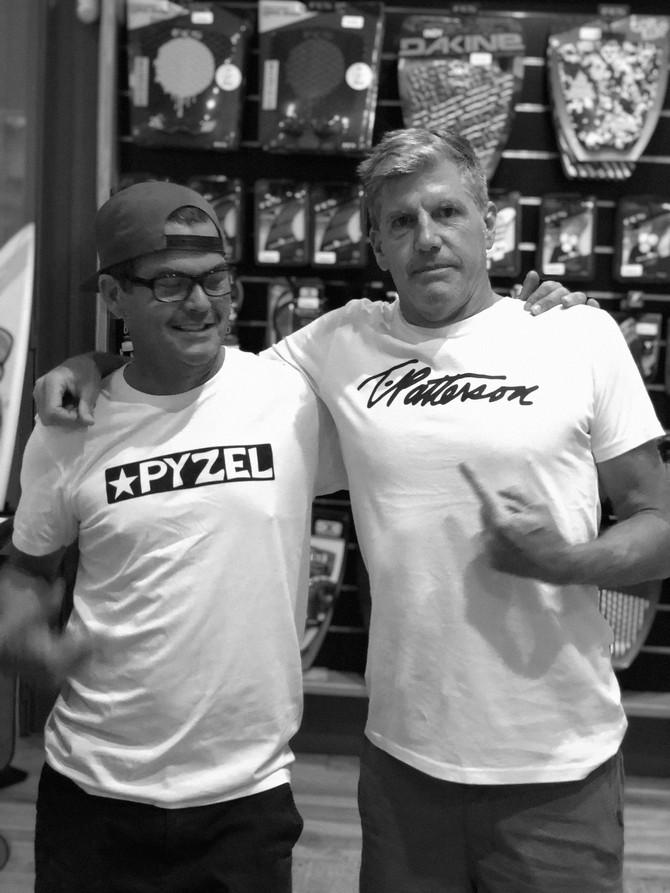 TIMMY PATTERSON & PYZEL @ POLEN SURF SHOP OCT 24